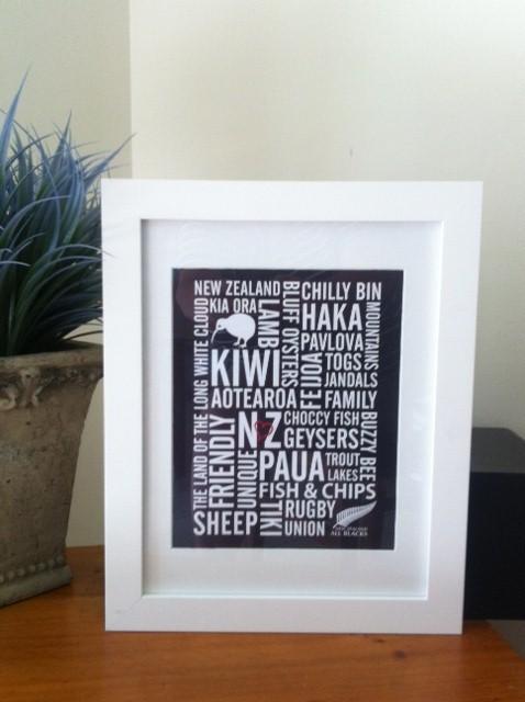 Love New Zealand 8x10 Home Wall Decor Art Print Kiwi Maori Colour My Room