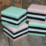 LICORICE ALLSORTS GOAT'S MILK & SHEA BUTTER SOAP