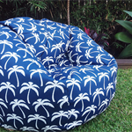 OUTDOOR BEAN BAG PALM SPRINGS LARGE ADULT SIZE MODERN FUNKY STYLE