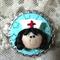 Bottle Cap Nurses Brooch