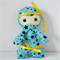 Blue and Yellow Ninja Toy
