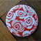 1 x Pocket Mirror - Red Roses
