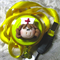 Cute Nurse ID Clip & Lanyard- Yellow