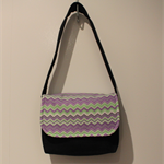 Girls Chevron Zaaberry Messenger Bags