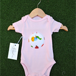 Gorgeous cotton onesie (newborn), sweet hungry caterpillar print.