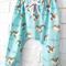 Blue Unicorn Harem Pants - baby, girl, toddler, winter, horse, pony