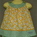 Sunny Yellow Round Yoke Top