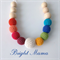 Bright Mama crochet teething nursing necklace
