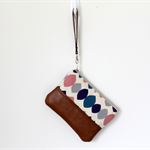 Clutch, wristlet, zipper pouch