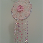 """Pretty in pink dreamcatcher"""