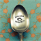 ESPRESSO YOURSELF - Coffee Crazy Vintage Teaspoon- Hand Punched Flatware Cutlery