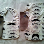 Bamboo Baby Bib & Burp Cloth Set