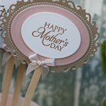 Handmade Mother's Day Topper ~ Cake Topper ~ Present Topper ~ Ready to Post