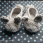 Baby Bunny Crochet Slipper