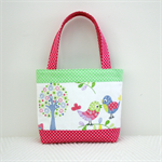 Mini Tote Bag - Birds