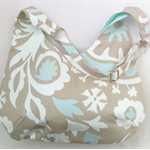 Ladies Adjustable Hobo Handbag Purse in Designer Fabric