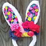 Bunny in the garden flower crowns, headbands, Rabbit ears