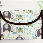 Adorable Elephants NAPPY WALLET *FREE Post