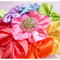 Rainbow Girls Baby Headband - Large Daisy Ribbon Satin Flower - Zara BB