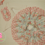 SIze 1 Shabby Chic Twirly Skirt set