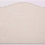 Custom made Eadie queen size upholstered headboard