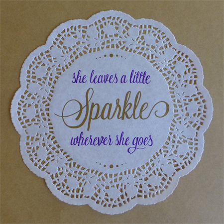 Beautiful hand-drawn inspirational quote, unframed