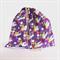 Girls Large Book Bag, Library Bag or Kindy Bag - Purple Tinker Bell