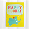 Happy Hooray Greeting Card 5x7