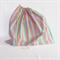 Girls Large Book Bag, Library Bag or Kindy Bag - Pastel Stripes