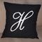 Monogram Cushion Cover - Script Letter