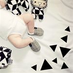 Grandpa Plaid 'Baby Soft Shoes' bamboo lined made to order from newborn