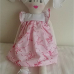 Handmade Little Miss doll 2