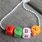 GIRLS PERSONALISED NAME NECKLACE