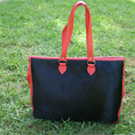Genuine Cowhide leather bag all fully lined