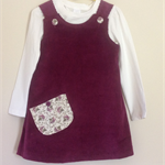 "Grape coloured "" kindy style "" tunic size 4"