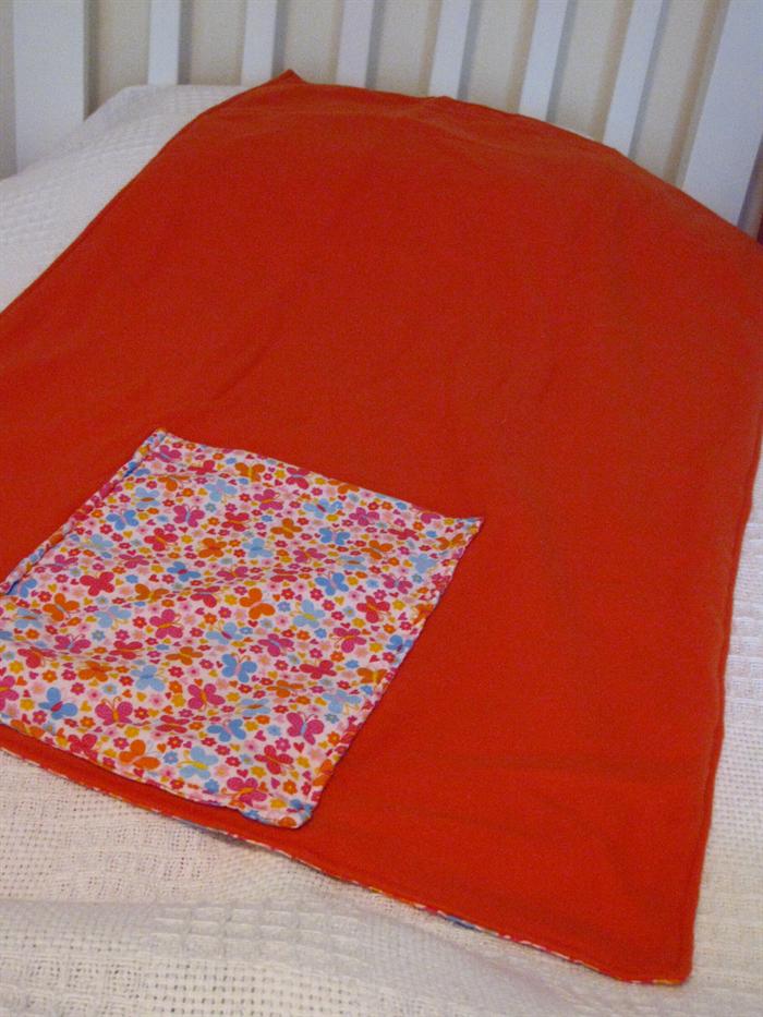 Kids Pocket Blanket Pillow Butterflies Owl Designs