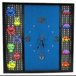 SALE - Unique Wall Clock, Wall Art, Wall Decor, Alien Bedroom Decor, Kids Gift
