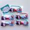 5 Packs DISNEY FROZEN Birthday Favor Hair Bow Elastic Hair Ties