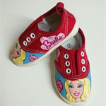 Hand-Painted Barbie shoes