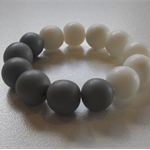 Resin Beaded Stretch Bracelet