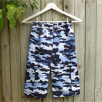 Size 6 - Blue Camouflage