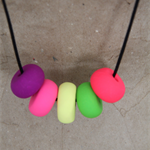 Tuti Fruti #2 Clay Necklace