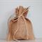 Wedding Favour Bags. Burlap Favor Bags. Set of 10. Rustic Wedding.