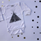 Tee Pee Hand Screen Printed Long Sleeve Onesie