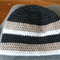**Custom Order for aideenguille** Striped Hat, Crochet, 12-18 months, Boy
