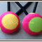 Bright Spot Button Hair Ties/Elastics