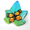 Polymer Clay Brooch with Butterfly