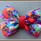Candy Crush Print Bow