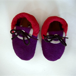 Suede Baby Booties & Slippers: soft-sole