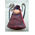 Small Leather Backpack Bag